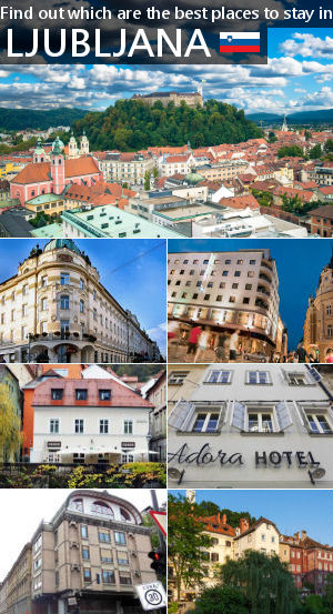 Places to stay in Slovenia's capital Ljubljana