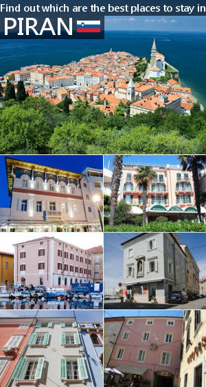 Places to stay in Piran, Slovenia