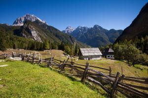 Trenta Valley in Slovenia