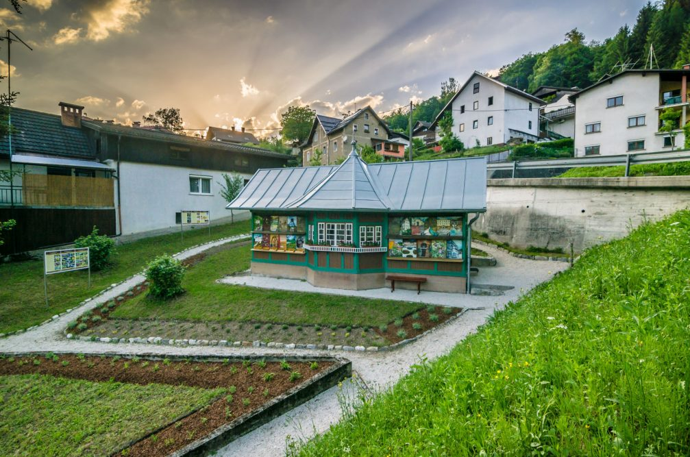 The Idrija Municipal Apiary in the town of Idrija in western Slovenia