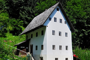 Miner's House In Idrija, Slovenia