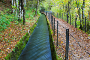 The Rake Water Channel In Idrija