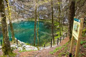 Wild Lake In Idrija, Slovenia