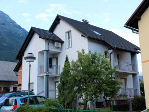 Exterior of Apartments Hisa Brdo 48 in Bovec, Slovenia