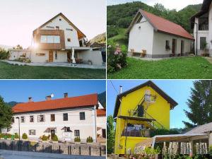 Collage of apartments in Idrija, Slovenia