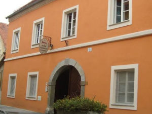 Exterior of Rooms and Apartments Silak in Ptuj, Slovenia