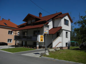 Exterior of Guesthouse and Apartment Mira G in Postojna, Slovenia