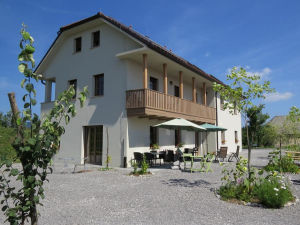 Exterior of the Lipizzaner Lodge Guest House in Postojna, Slovenia