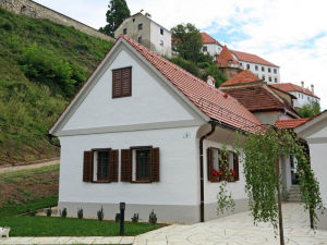 Exterior of Apartment Little House in Ptuj, Slovenia