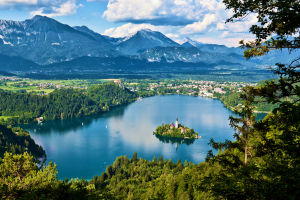 View of Bled, Slovenia