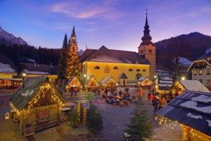 Slovenia at Christmas time