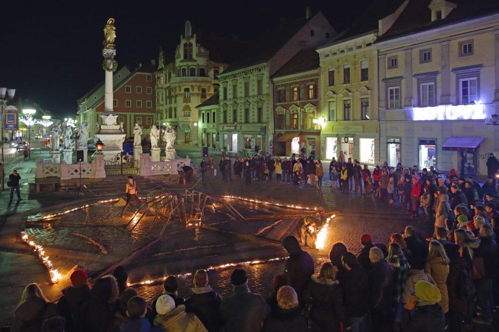 A festive event in Maribor