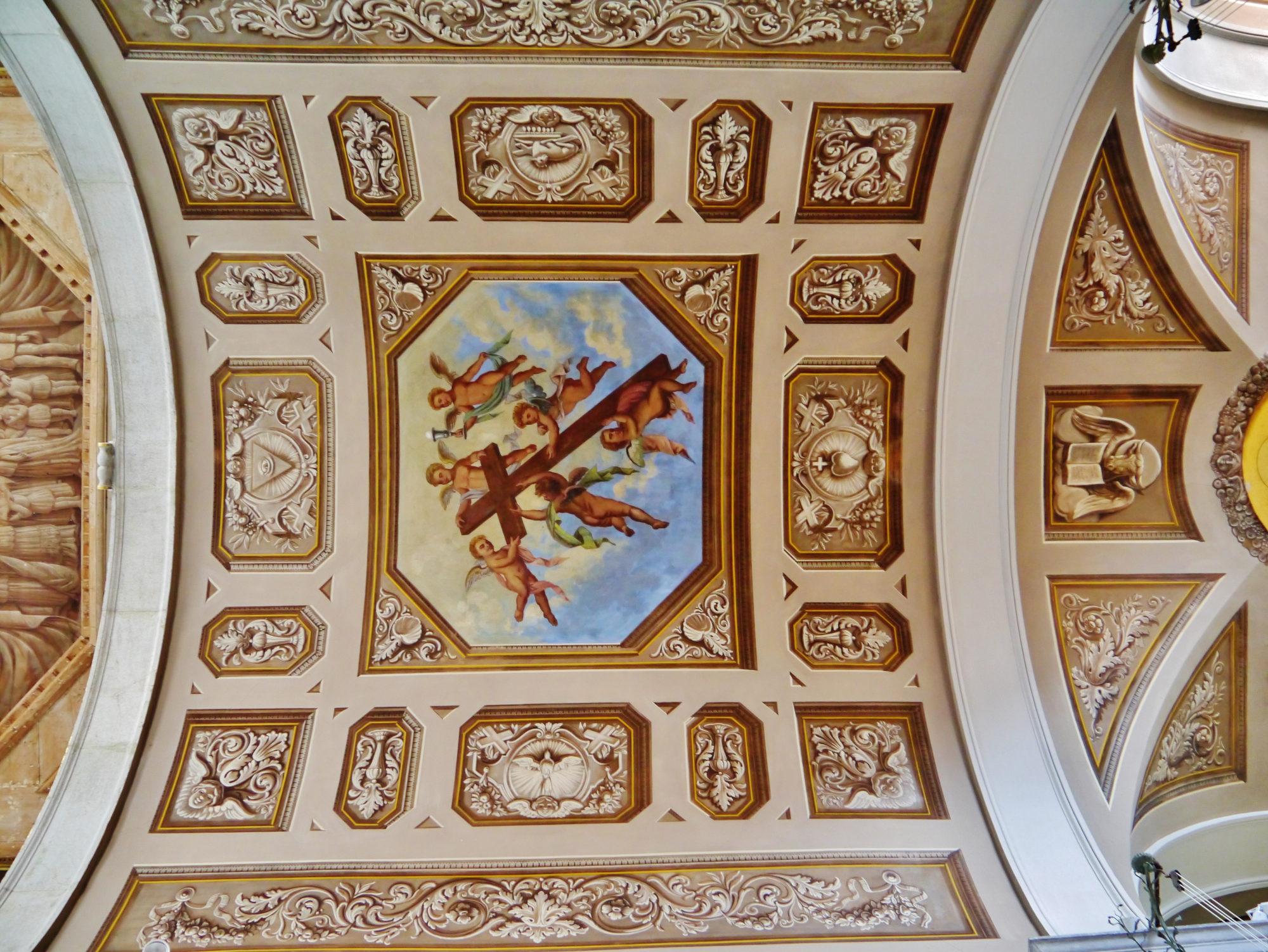 st-george-church-piran-choir-ceiling - TRAVELSLOVENIA.ORG ...